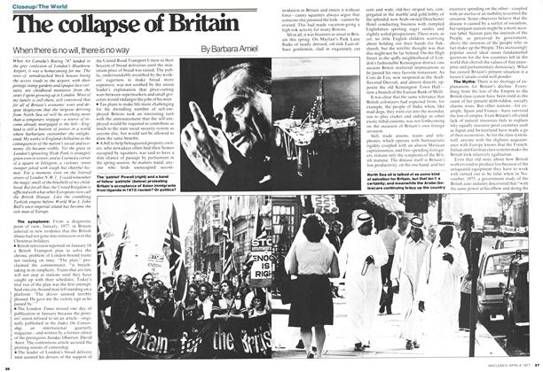 Article Preview: The collapse OF Britain, April 1977 | Maclean's