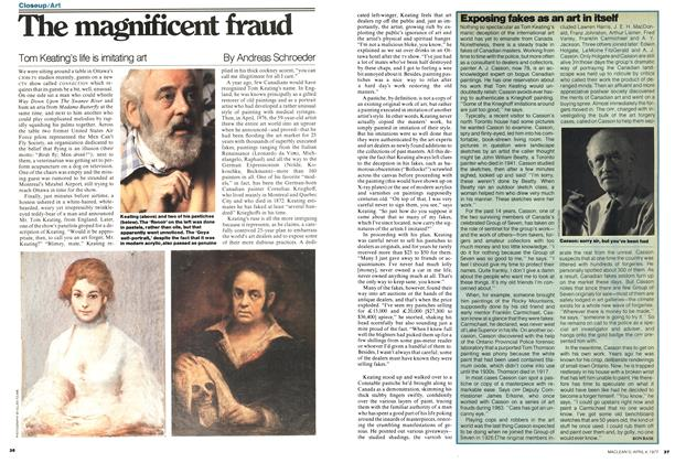Article Preview: Exposing fakes as an art in itself, April 1977 | Maclean's