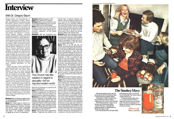Article Preview: Interview, April 1977 | Maclean's