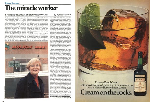 Article Preview: The miracle worker, April 1977 | Maclean's