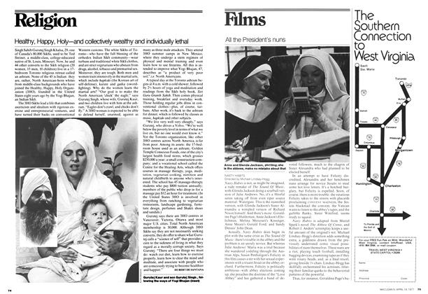 Article Preview: Healthy, Happy, Holy—and collectively wealthy and individually lethal, April 1977 | Maclean's