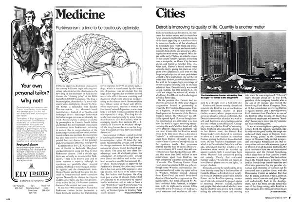 Article Preview: Parkinsonism: a time to be cautiously optimistic, May 1977   Maclean's