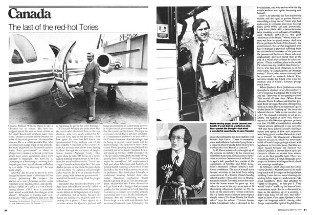 Article Preview: The last of the red-hot Tories, MAY 16,1977 1977 | Maclean's