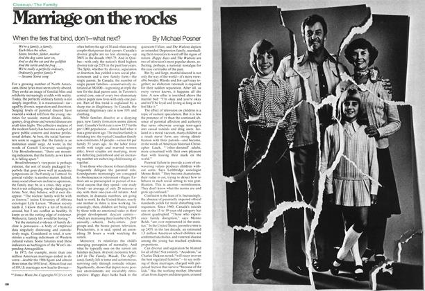 Article Preview: Marriage on the rocks, MAY 16,1977 1977 | Maclean's