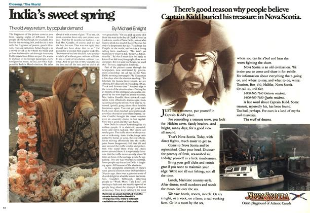 Article Preview: India's sweet spring, MAY 16,1977 1977 | Maclean's