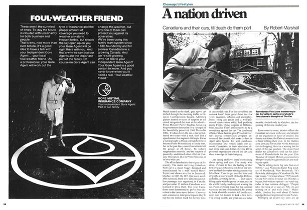 Article Preview: A nation driven, MAY 16,1977 1977 | Maclean's