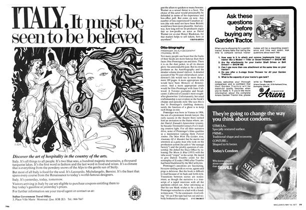 Article Preview: Otto-biography, MAY 16,1977 1977 | Maclean's