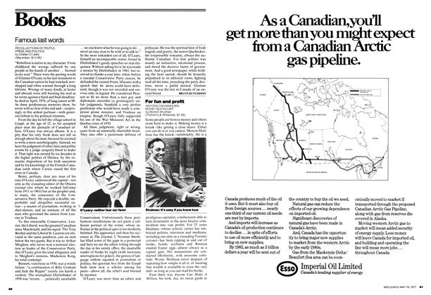 Article Preview: Famous last words, MAY 16,1977 1977 | Maclean's