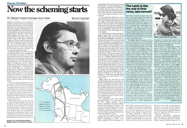 Article Preview: Now the scheming starts, May 1977 | Maclean's