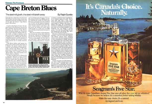 Article Preview: Cape Breton Blues, May 1977 | Maclean's
