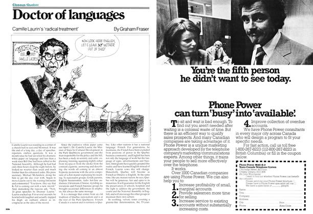 Article Preview: Doctor of languages, May 1977 | Maclean's