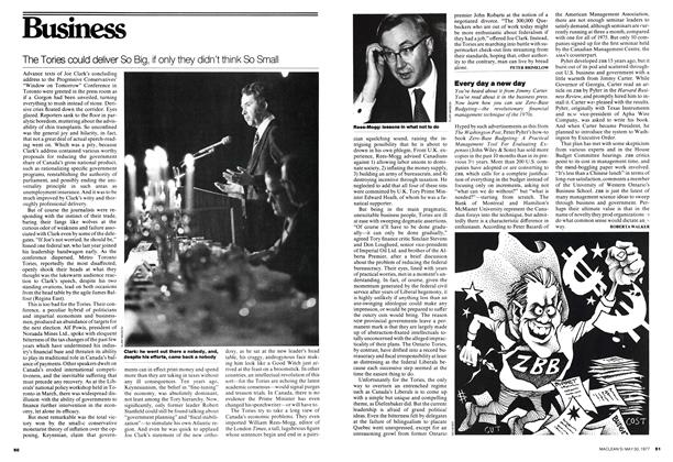 Article Preview: The Tories could deliver So Big, if only they didn't think So Small, May 1977 | Maclean's