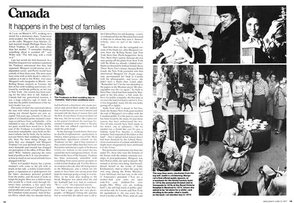 Article Preview: It happens in the best of families, June 1977 | Maclean's