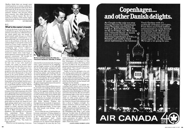 Article Preview: What's-his-name's travels, June 1977 | Maclean's