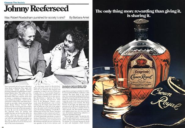 Article Preview: Johnny Reeferseed, June 1977 | Maclean's