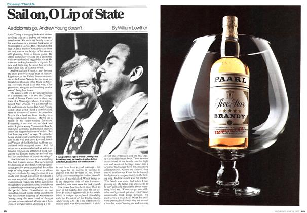 Article Preview: Sail on,0 Lip of State, June 1977 | Maclean's