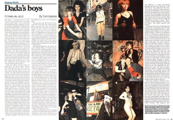 Article Preview: Dada's boys, June 1977 | Maclean's