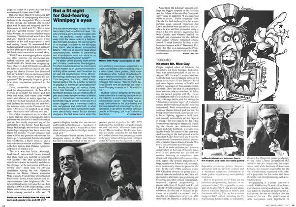 Article Preview: No more Mr. Nice Guy, June 1977 | Maclean's