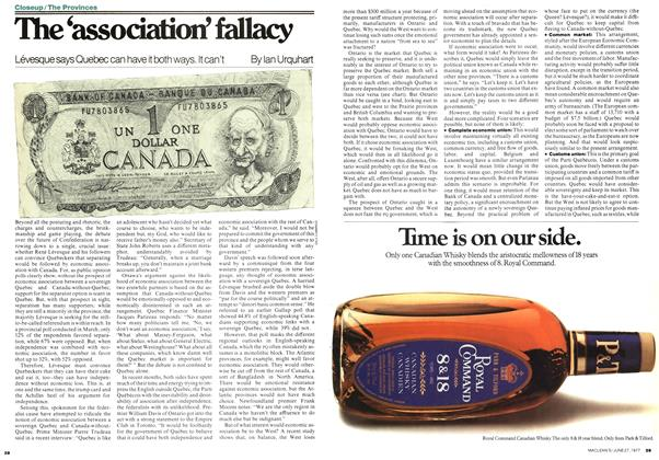 Article Preview: The 'association' fallacy, June 1977 | Maclean's