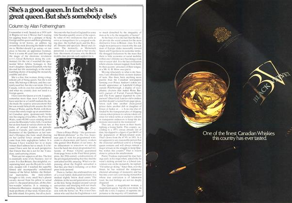 Article Preview: She's a good queen. In fact she's a great queen. But she's somebody else's, June 1977 | Maclean's