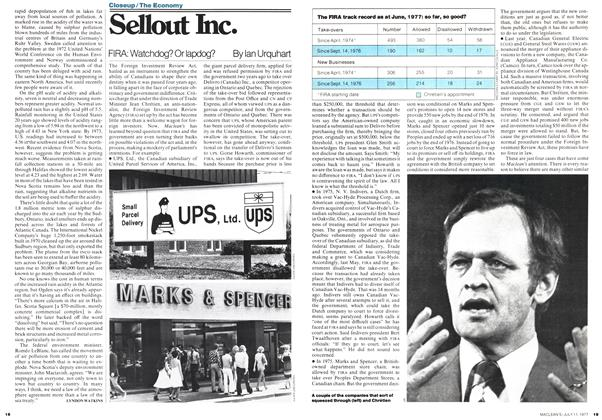 Article Preview: Sellout Inc., July 1977 | Maclean's