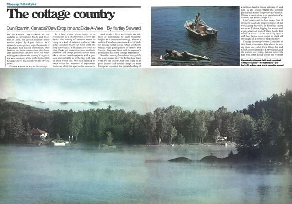 Article Preview: The cottage country, July 1977 | Maclean's