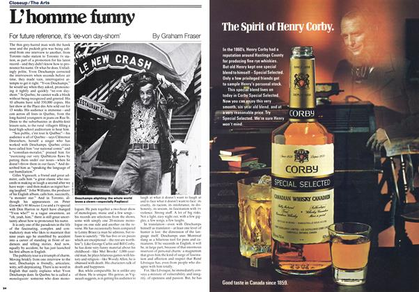 Article Preview: L'homme funny, July 1977 | Maclean's