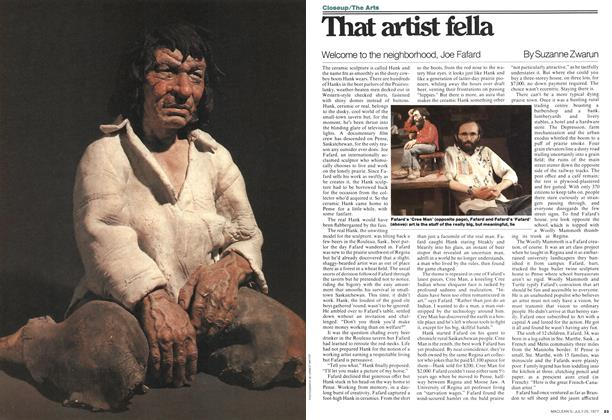 Article Preview: That artist fella, July 1977 | Maclean's
