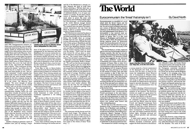 Article Preview: Eurocommunism: the 'threat' that simply isn't, July 1977 | Maclean's