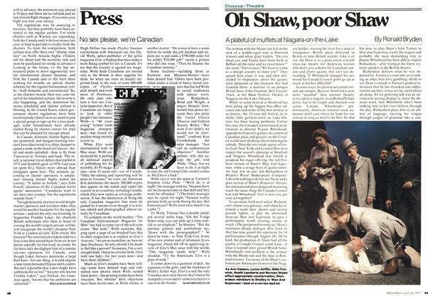 Article Preview: Oh Shaw, poor Shaw, July 1977 | Maclean's