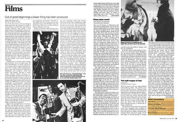Article Preview: Close does count, July 1977 | Maclean's