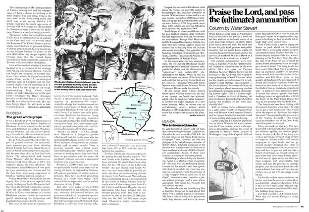 Article Preview: Praise the Lord, and pass the (ultimate) ammunition, August 1977 | Maclean's
