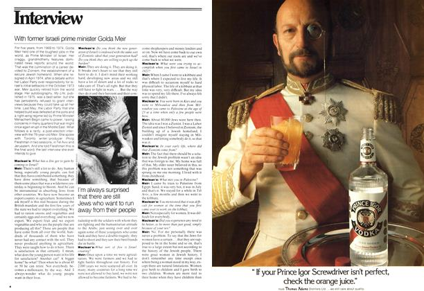 Article Preview: Interview, August 1977 | Maclean's