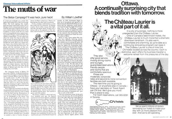 Article Preview: The mutts of war, August 1977 | Maclean's