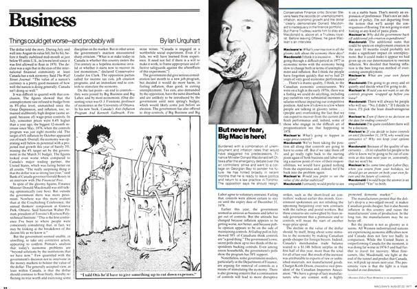 Article Preview: Things could get worse—and probably will, August 1977 | Maclean's