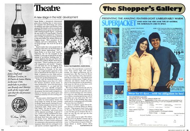 Article Preview: A new stage in the kids' development, August 1977 | Maclean's
