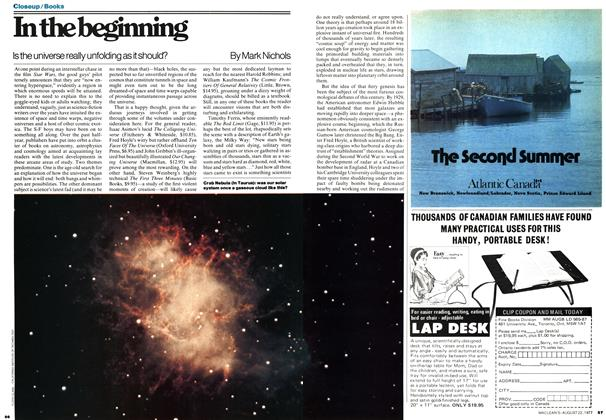 Article Preview: In the beginning, August 1977 | Maclean's