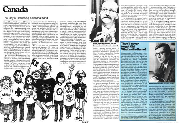 Article Preview: That Day of Reckoning is closer at hand, September 1977 | Maclean's