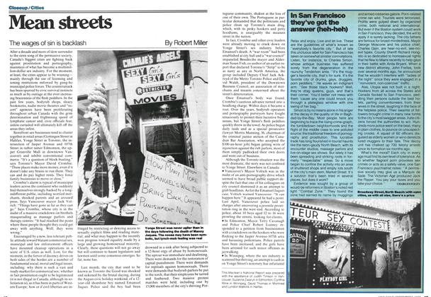 Article Preview: Mean streets, September 1977 | Maclean's