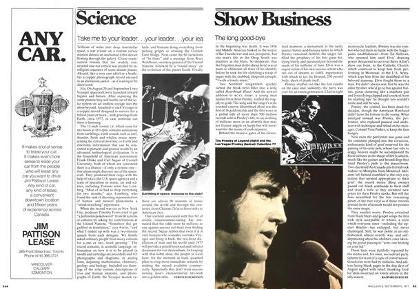 Article Preview: The long good-bye, September 1977 | Maclean's