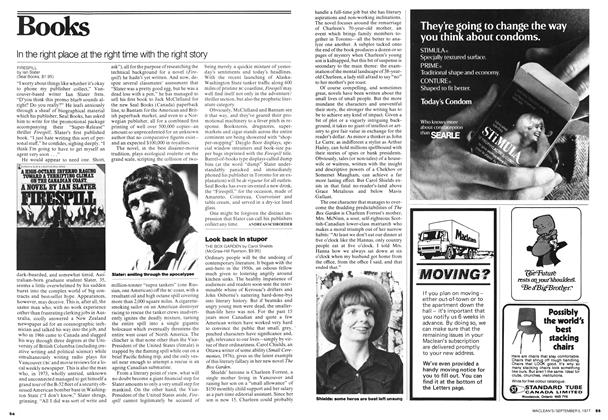 Article Preview: In the right place at the right time with the right story, September 1977 | Maclean's