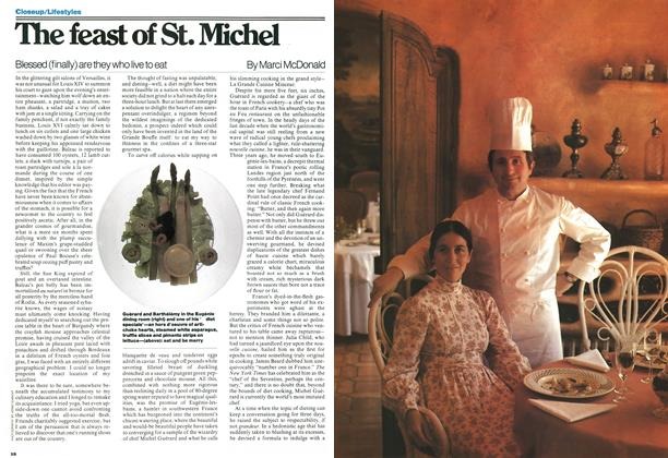Article Preview: The feast of St. Michel, September 1977 | Maclean's