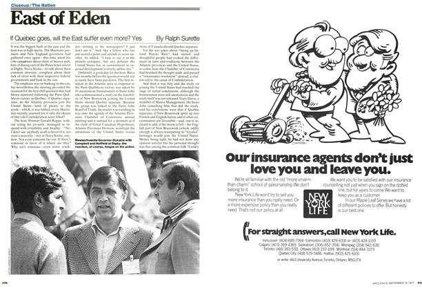 Article Preview: East of Eden, September 1977 | Maclean's