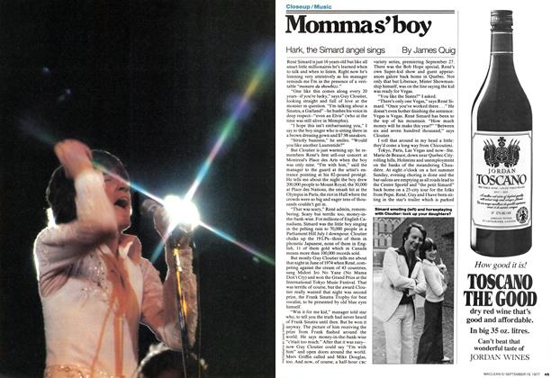 Article Preview: Mommas' boy, September 1977 | Maclean's
