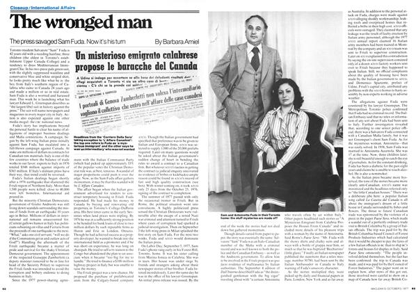 Article Preview: The wronged man, October 1977 | Maclean's