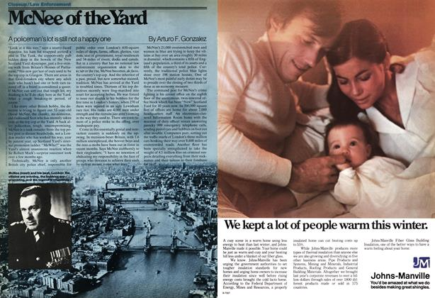 Article Preview: McNee of the Yard, OCT0BER17 1977 1977 | Maclean's