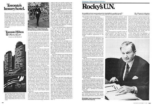 Article Preview: Rocky's U.N., OCT0BER17 1977 1977 | Maclean's