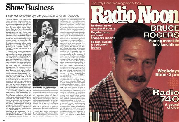Article Preview: Laugh and the world laughs with you—unless, of course, you bomb, OCT0BER17 1977 1977 | Maclean's