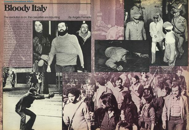 Article Preview: Bloody Italy, OCTOBER 31,1977 1977 | Maclean's