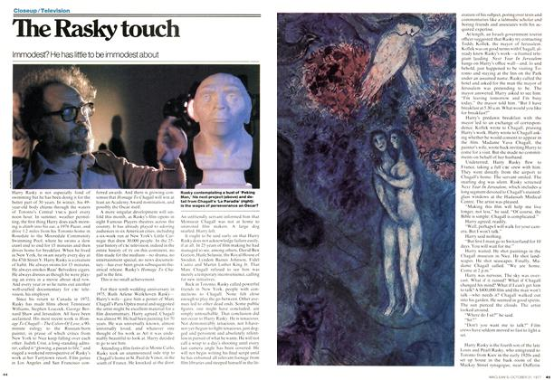 Article Preview: The Rasky touch, OCTOBER 31,1977 1977 | Maclean's